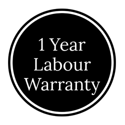 1 year labour warranty
